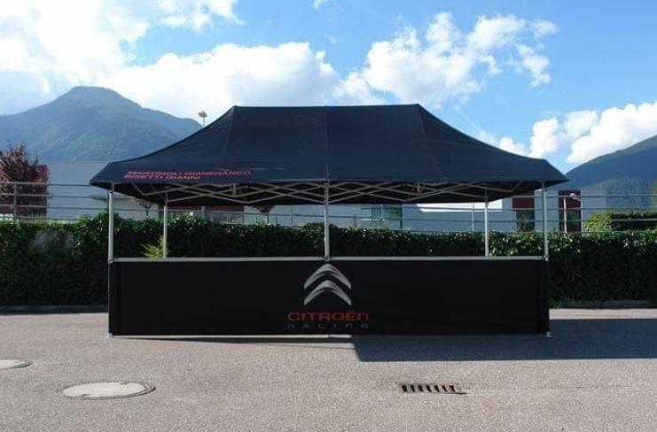 <p>Tent – Shop – Citroen</p> <p>6m x 6m Shop 1 Awning (6m x 3.8m)</p>
