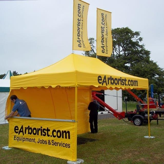 <p>Accessories &#8211; Roof Flags</p> <p>2m x 0.8m</p> <p>Our tents have a patented fitting for easily attaching our roof flags. Promotional information can be printed on one side of the flags.</p>