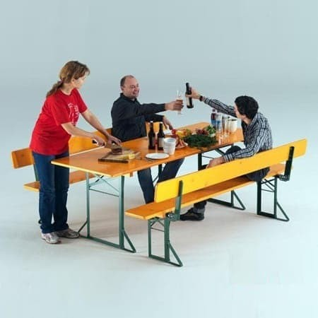 <p>Table & Bench Sets</p> <p>Traditional Beerfest Table & Bench Set</p>