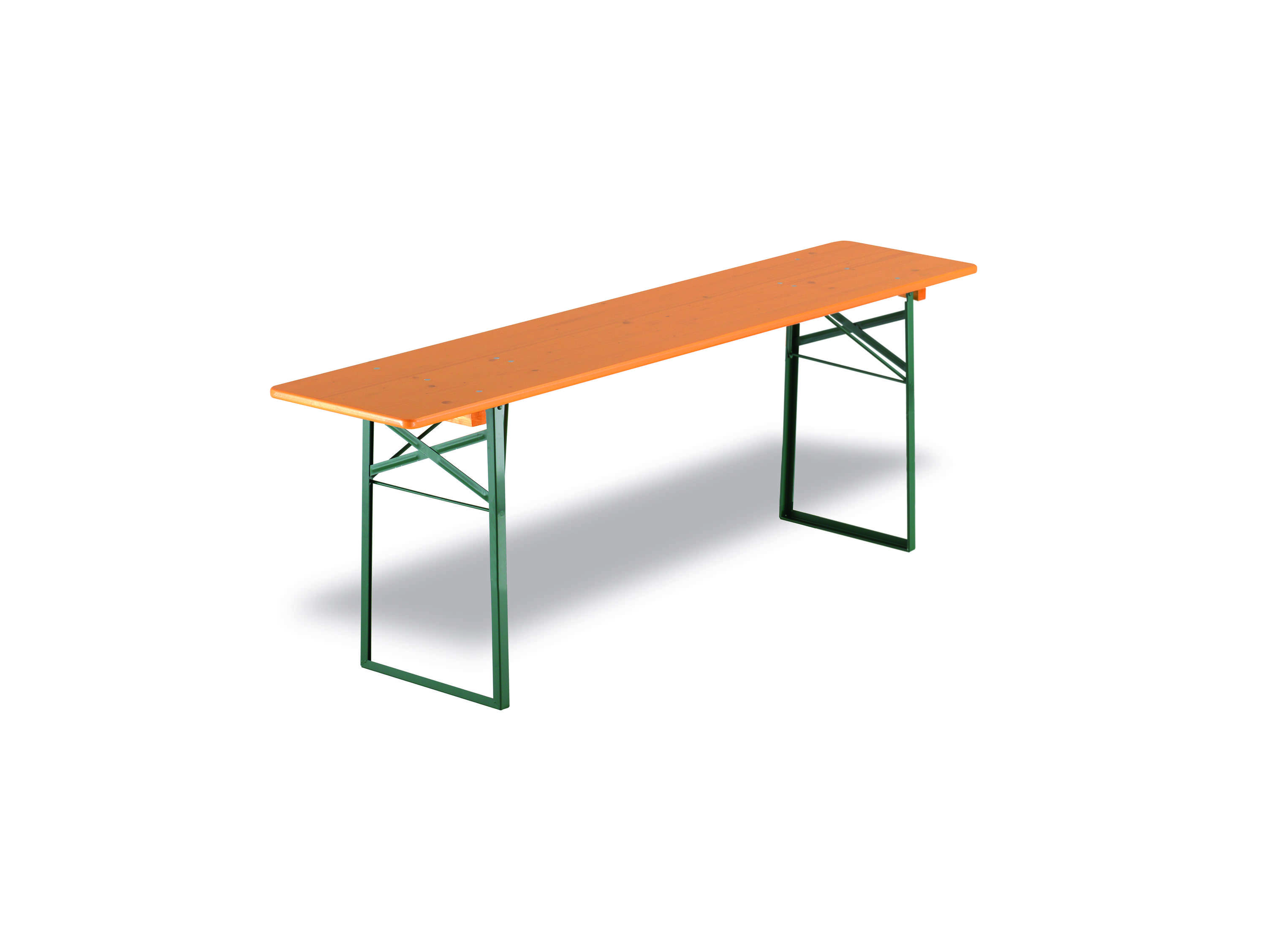 <p>Table & Bench Sets – Traditional Beerfest Set – Table</p> <p>3 options available. 2200mm x 800mm / 2200mm x 670mm / 2200mm x 500mm.</p> <p>Brewery Quality Folding Furniture for your indoor and outdoor events.</p>