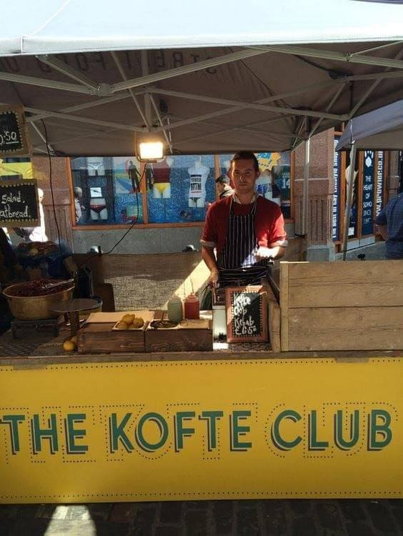 <p>Tent – Shop – The Kofte Club</p> <p>4.5m x 3m Shop 3 Awning (5.3m x 4.6m)</p> <p>The Kofte Club Shop Tent with 3 awnings in Soho.</p>