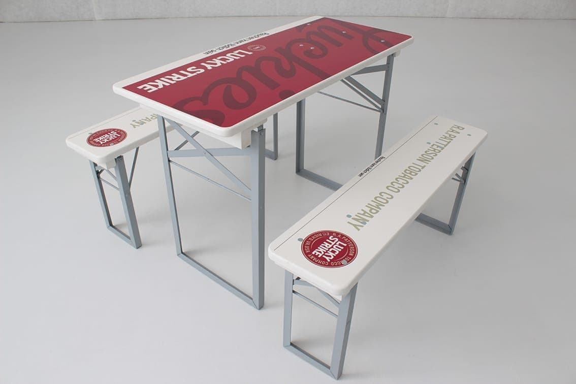 <p>Table & Bench Sets Digital Print</p> <p>Size to suit Beerfest and Oktoberfest Tables or Benches.</p> <p>Digital print is possible for Beerfest Table & Bench Sets. Minimum order quantity: 20 sets.</p>