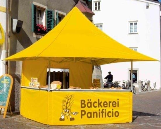<p>Tent &#8211; Shop &#8211; Backerei Panificio</p>