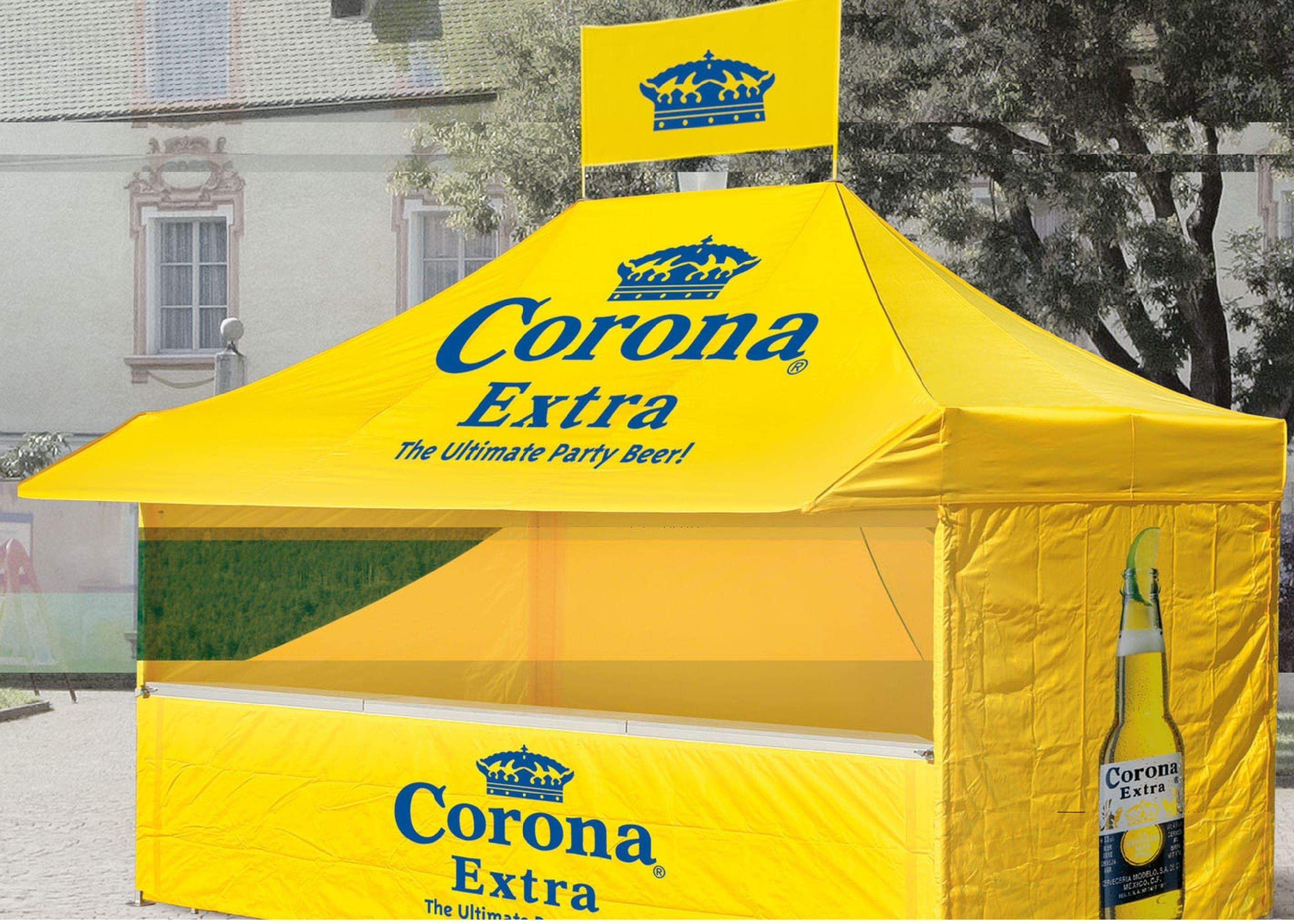 <p>Tent – Corona Extra</p>