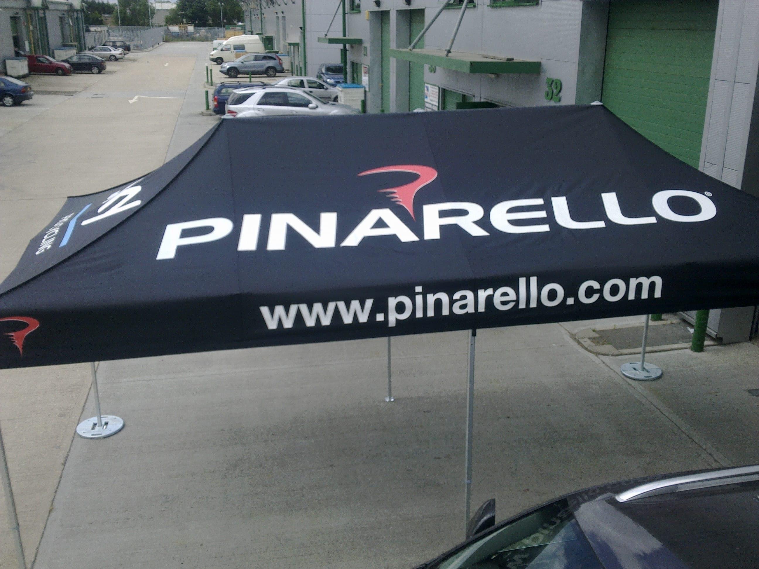 <p>Tent – Pinarello</p>