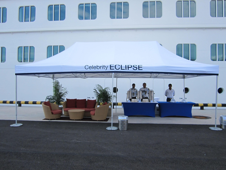 <p>Tent &#8211; Classic &#8211; Celebrity Cruises</p> <p>8m x 4m</p>