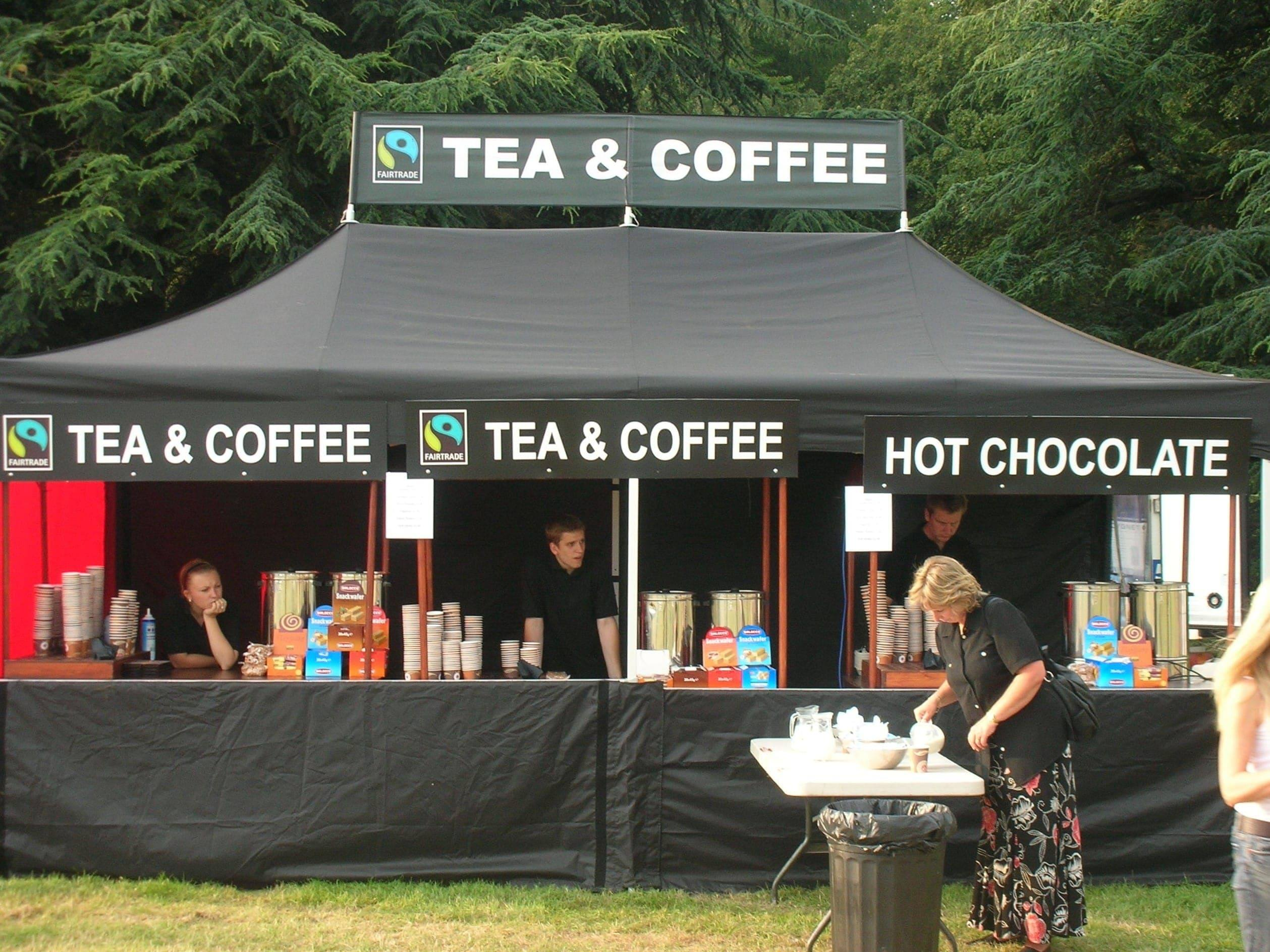 <p>Tent – Classic – Hot Drinks</p> <p>6m x 3m</p>