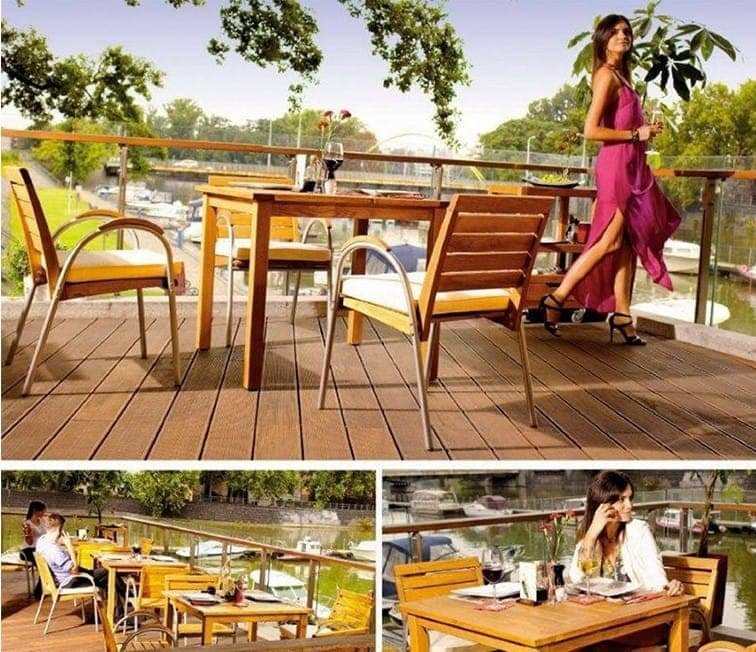 <p>Patio & Terrace Furniture – Table & Chairs – TERRAZZA</p>