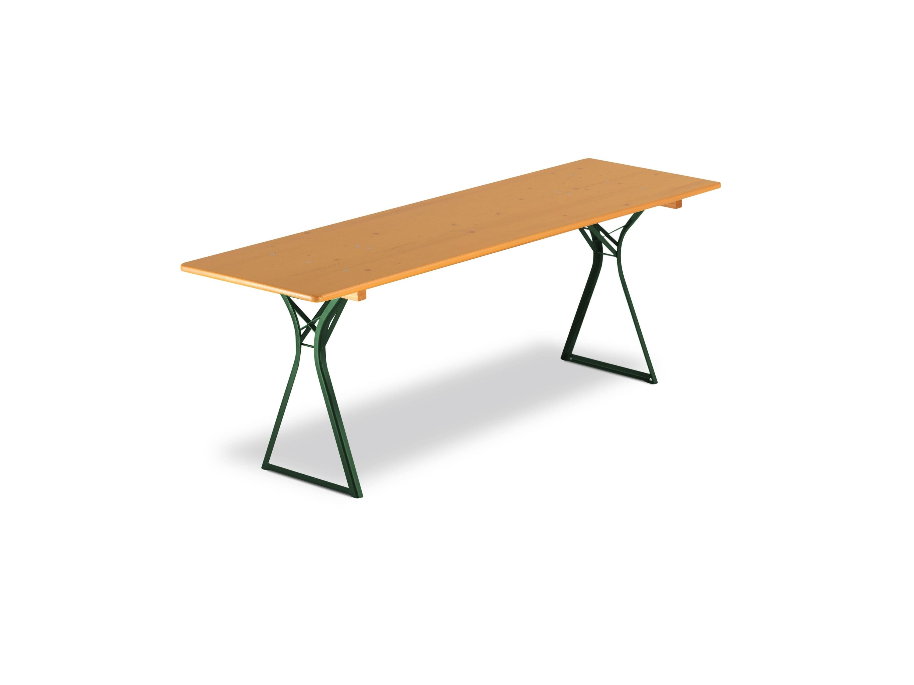 <p>Table & Bench Sets – Oktoberfest Set – Table</p> <p>2 options available. 2200mm x 670mm / 2200mm x 500mm.</p> <p>Comfortable Oktoberfest Table.</p>