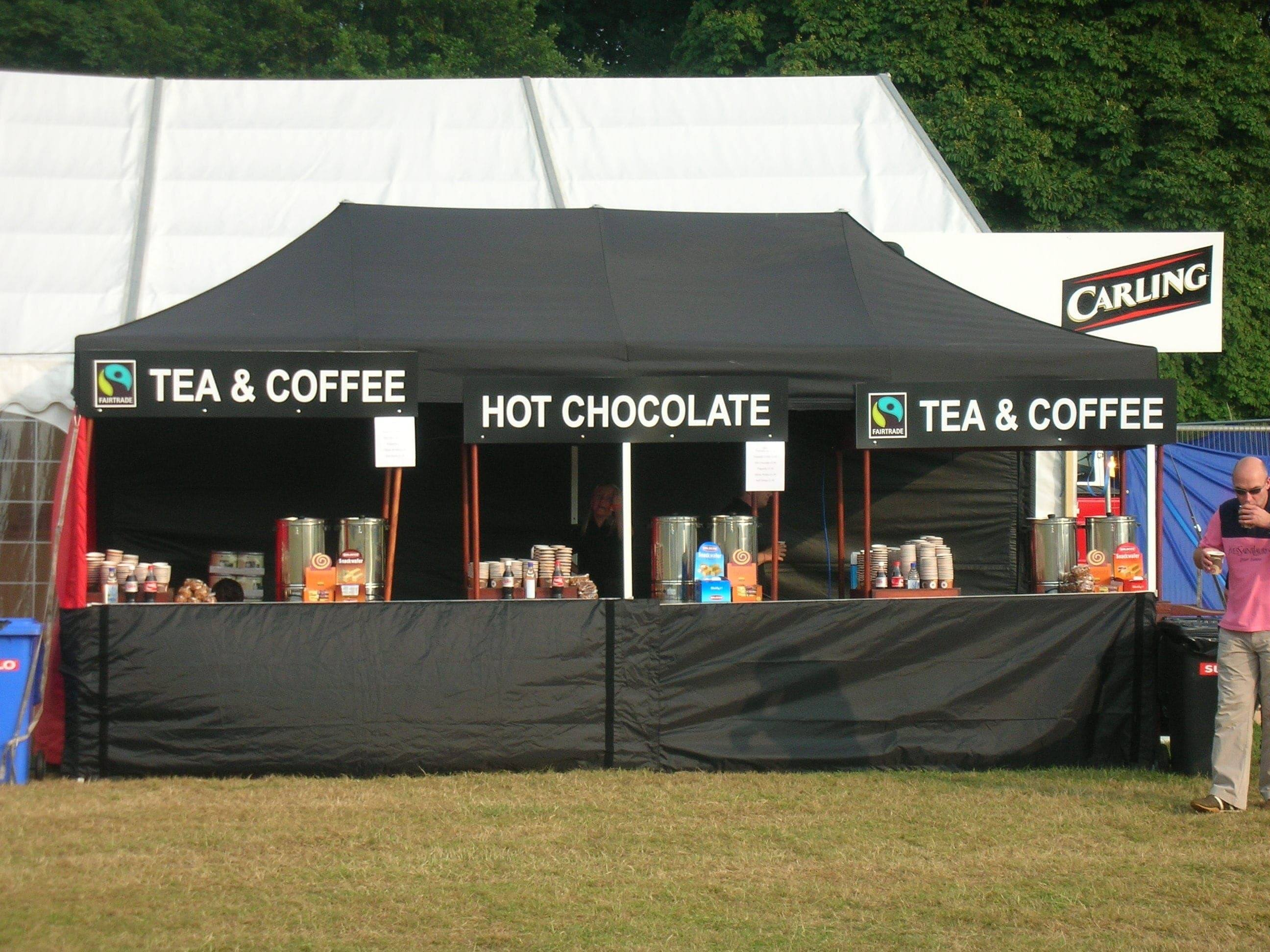 <p>Tent &#8211; Classic &#8211; Hot Drinks</p> <p>6m x 3m</p>