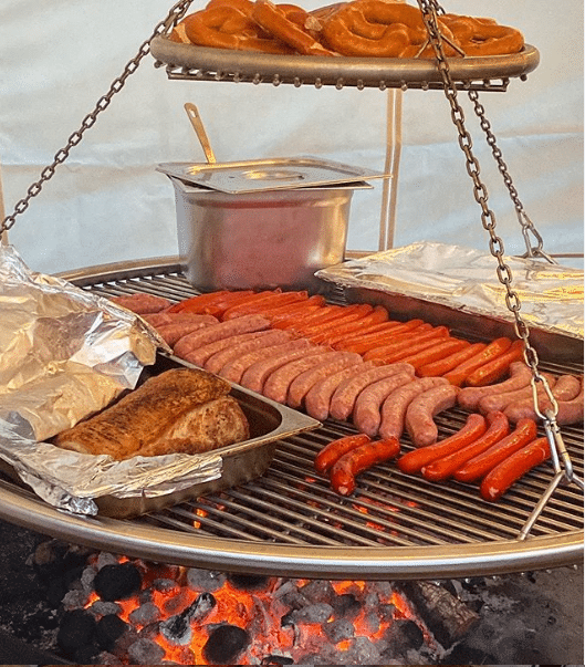 Lumiere Commercial Barbecue – Pub Event Catering – Cooking Grill & Warming Ring
