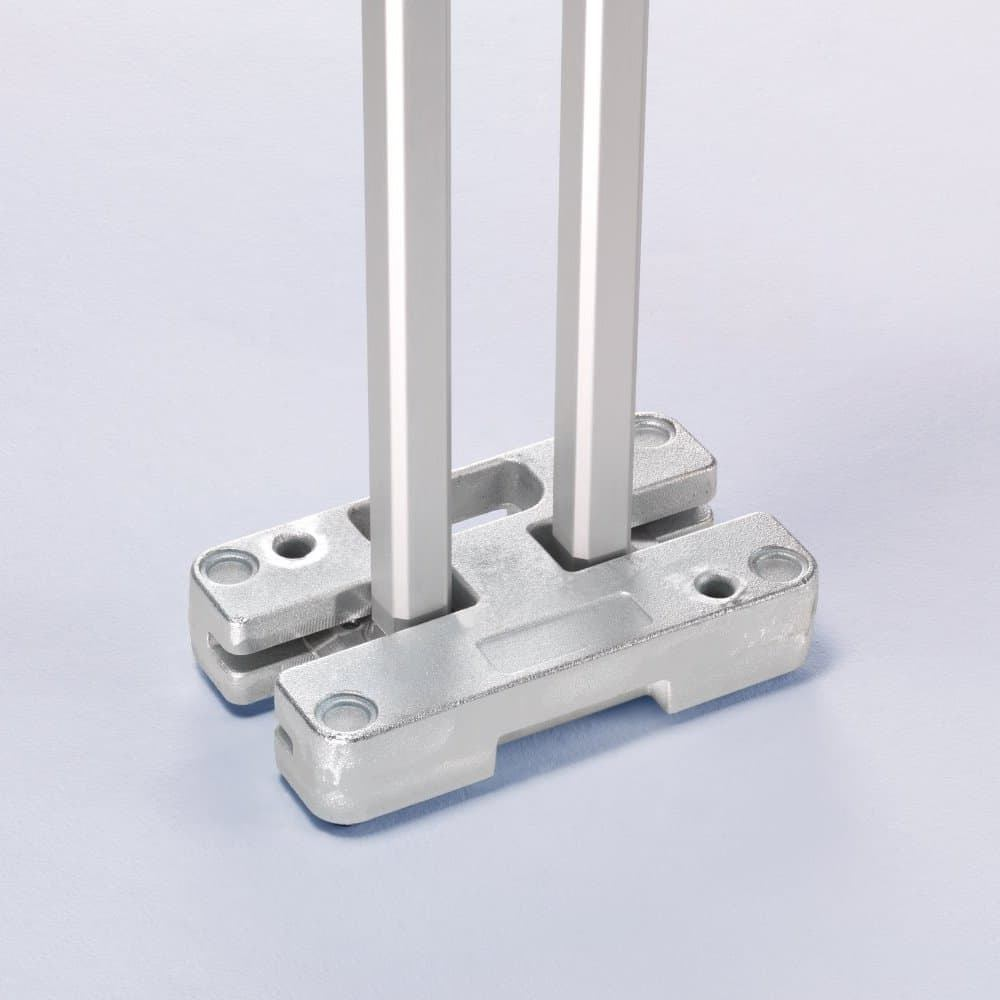 <p>Accessories – 14kg Weight</p> <p>Portable, galvanised, corrosion-proof steel plates for maximum stability. The weights can be stacked for increased stability. They can even be used when several tents are connected together in the modular system. The plates can be stacked for increased stability.</p>