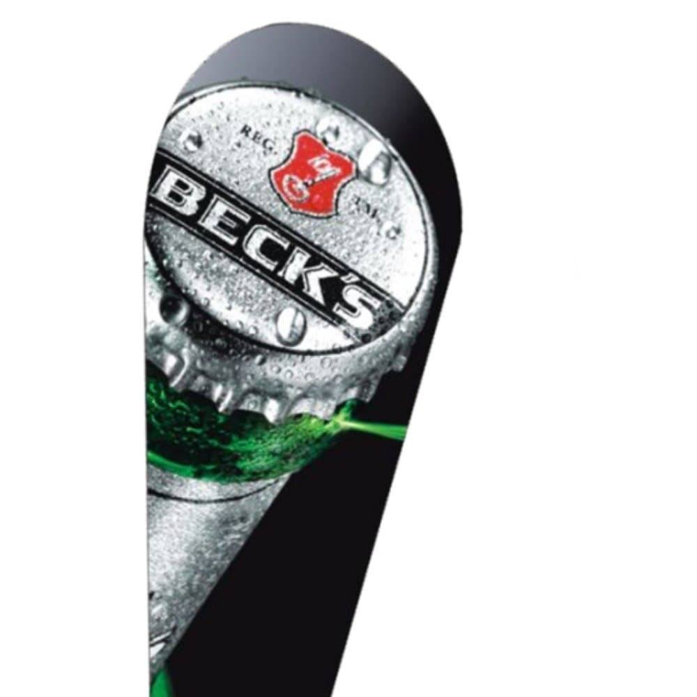 <p>Promotional Flag – Teardrop – Becks</p>