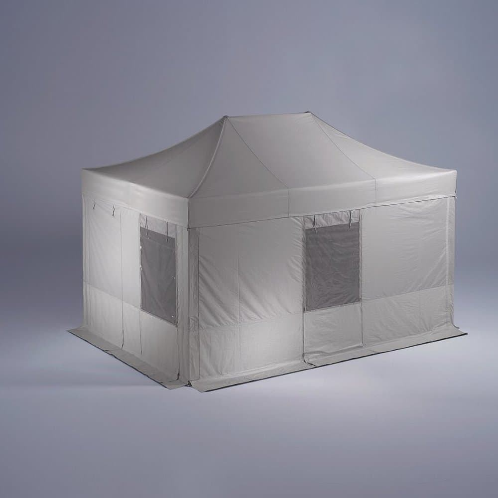 <p>Tent – Rescue</p> <p>4.5m x 3m</p> <p>The speed with which the rapid deployment of Rescue can be set up is unrivalled.</p>