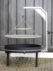 Sanki Swinging Grill – Avanti German Swing Grill – Warming Plate or hot holding grill & Rotator