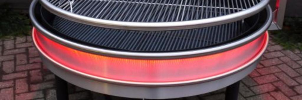 Lumiere LED Lighting around casing