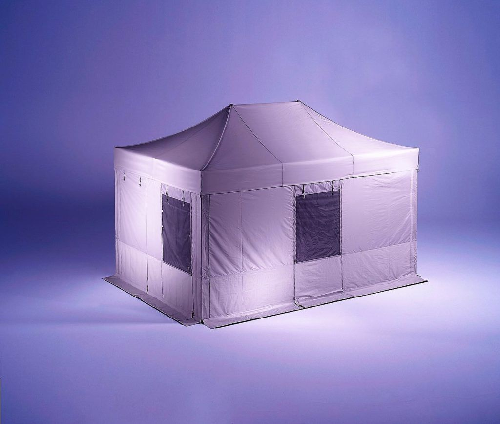 Special Medical Folding Tent showing all features and benefits