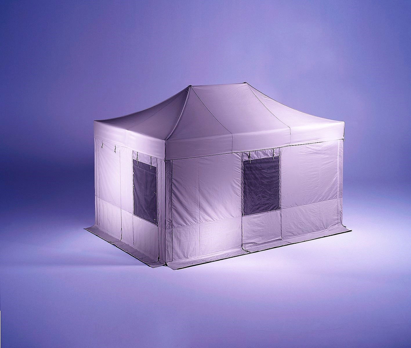 <p>Tents & Marquees – Folding Tents – Rescue Tent</p> <p> </p> <p>Special version of our Folding Tent, perfect as Command Centre or Medical Tent for rescue missions providing casualties protection from the weather and privacy in sensitive situations such as rescue operations, firefighting missions, police operations, as crime scene tents, medical tents during natural disasters such as earthquakes, tsunamis, triage tents outside hospitals and medical centres during pandemics such as COVID-19 etc.</p> <p> </p> <p>Includes special side walls with integrated doors and windows, insect screen, night closures and anti-slip floor.</p>