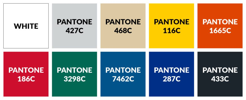 Tents & Marquees Pavilion Event Bar Roof Colour Options Swatch