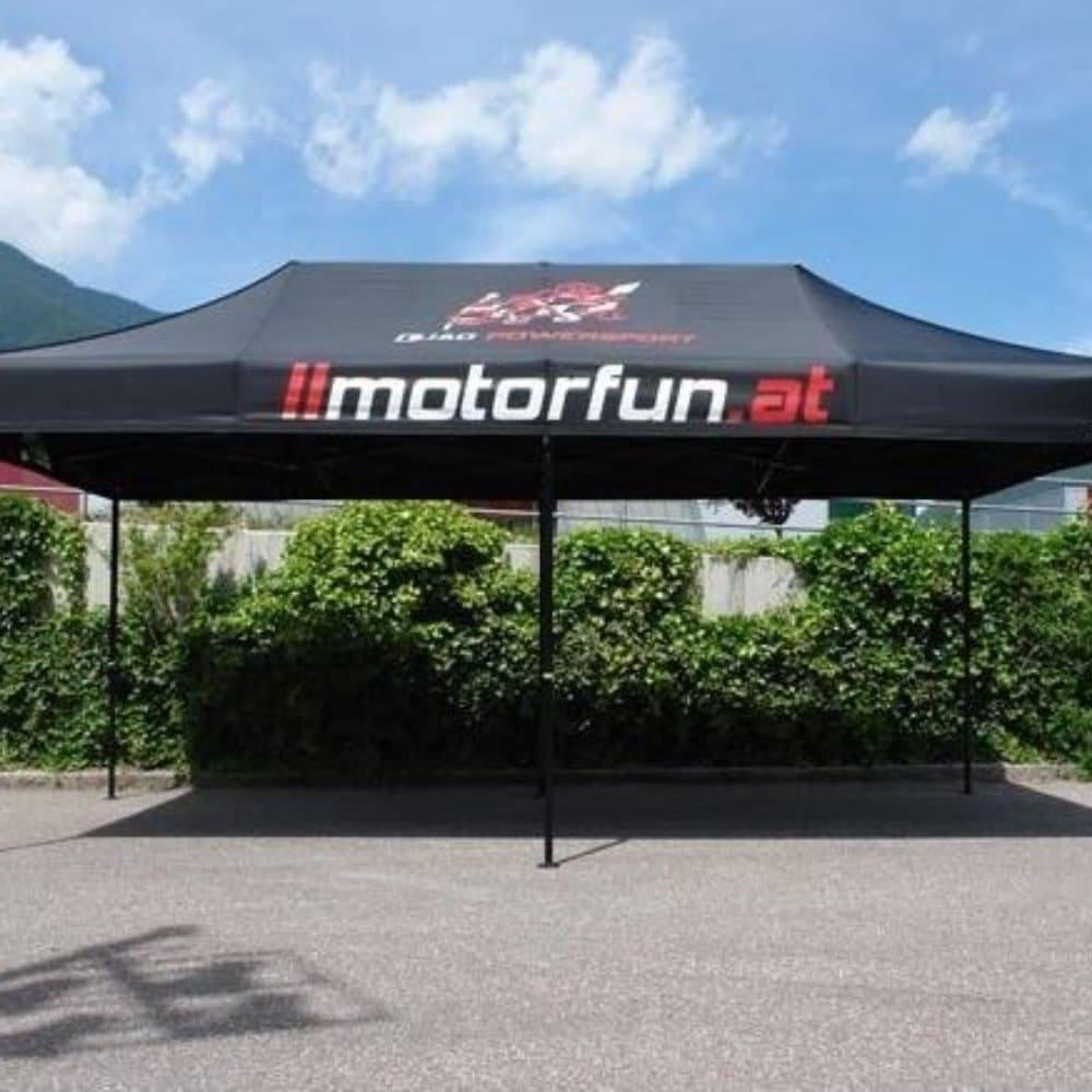 <p>Tent – Classic – Motorfun</p> <p>6m x 3m</p>