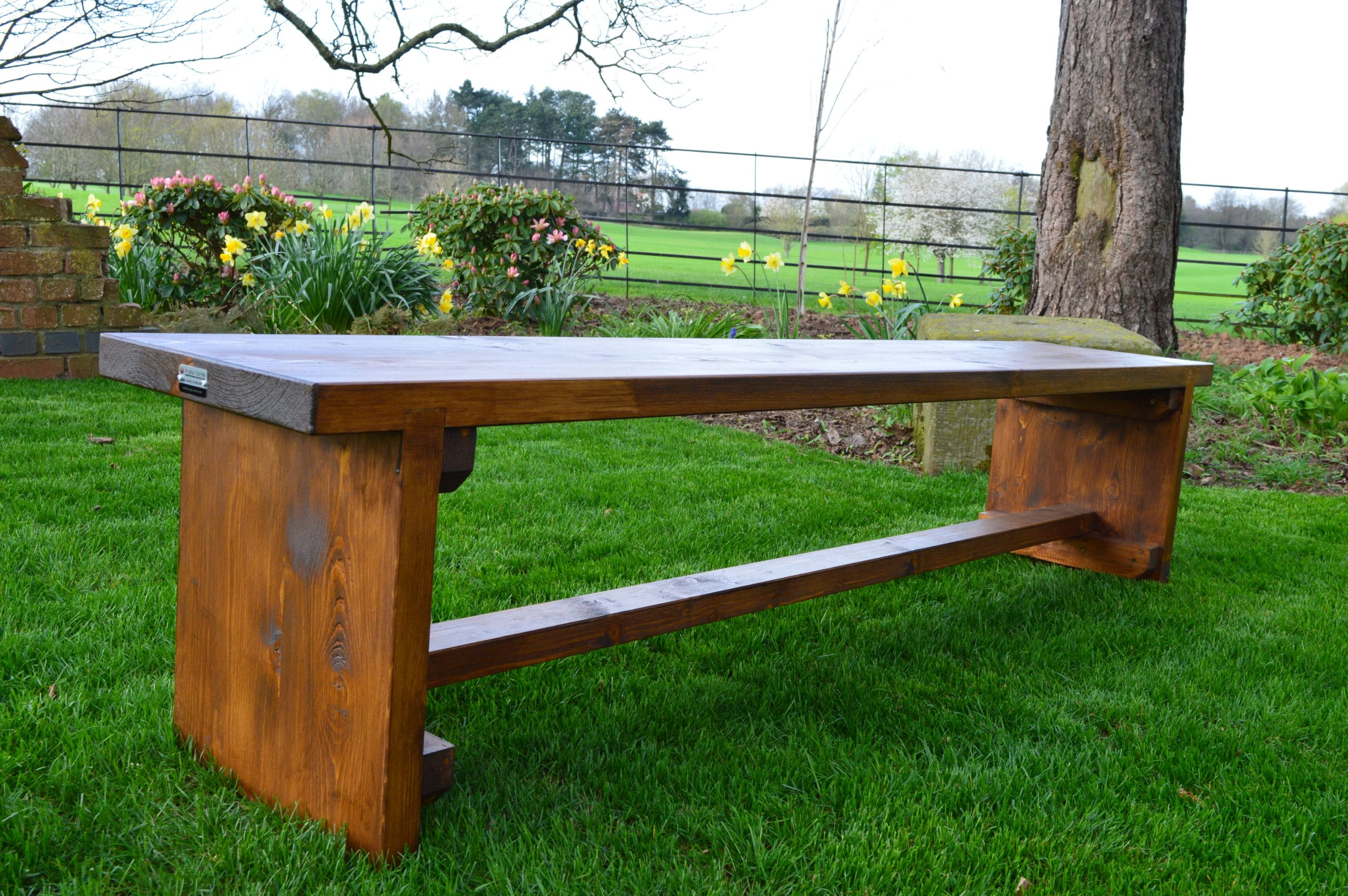 <p>Bespoke Products – Furniture – Wedding Benches</p> <p> </p> <p>Designed and built specifically for client's woodland wedding venue with dimensions, wood finish and colour being specified by our client.</p> <p> </p> <p> </p>