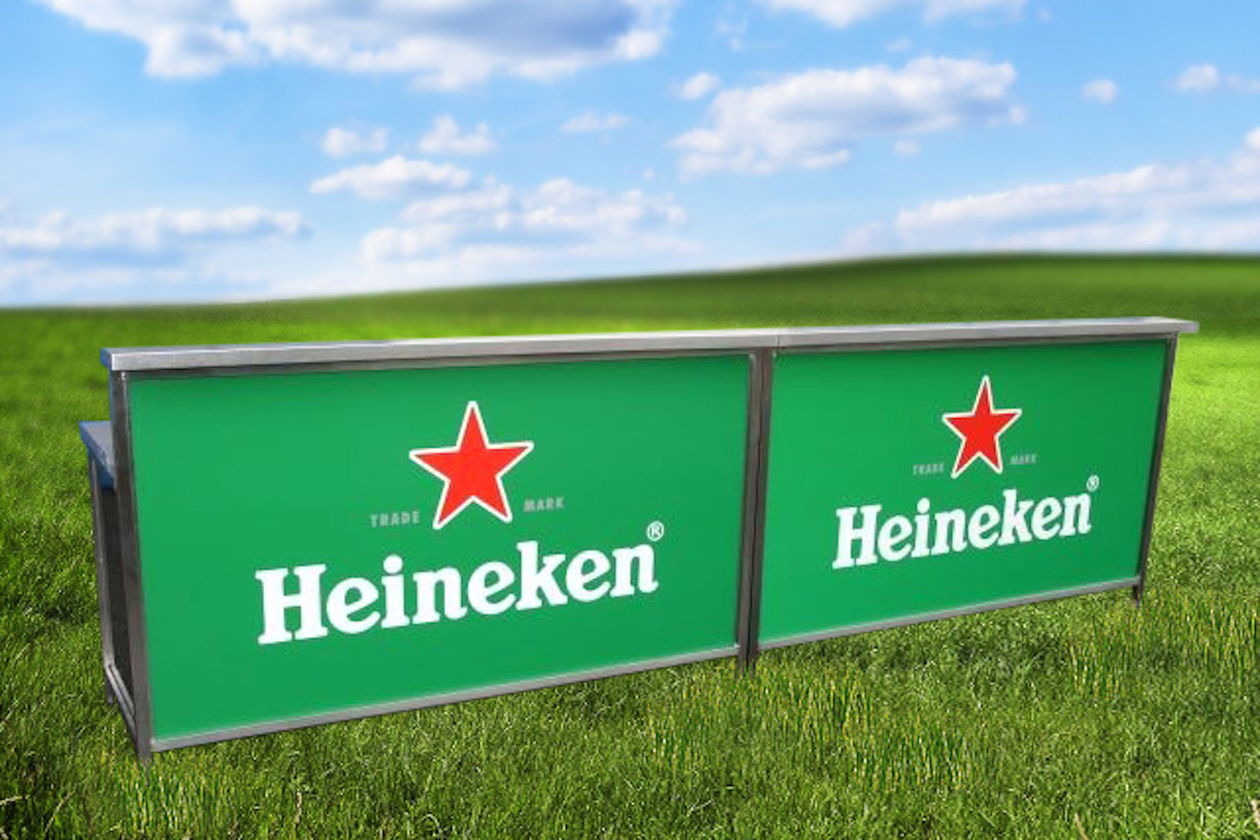 <p>Bespoke Products – Mobile Carts – Mobile Bars – Custom Modular Foldable Branded Design</p> <p></p> <p>Stylish, eloquent & bespoke made Mobile Foldable Drinks Bar – Heineken branding</p> <p></p> <p>Designed to meet the customer needs & objectives to include draught dispense, champagne, Pimms, multi-purpose etc or whatever the customer requires to make their mobile beverage bar unique & exclusive to their brand</p> <p></p> <p>One example of a design. We can design and manufacture to meet customer's specific objectives – foldable, static, but still mobile</p>