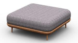 Leisure Collection Veranda Set – Footstool