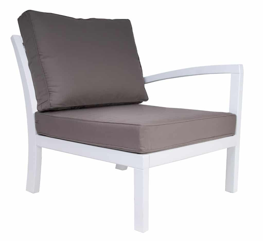 <p>Outdoor Furniture Leisure Collection Tuscany Armchair with left arm.</p> <p> </p> <p>Comfortable Patio Lounge Set Tuscany Armchair with left arm.</p> <p> </p> <p>Modern Leisure indoor or outdoor Hotel Coffee Lounge Set includes Armchairs, Chair, Corner Settee, Footstool and Table. Suits a variety of locations and settings including outdoor terraces, hotel reception areas and foyers with unlimited configuration options available</p>