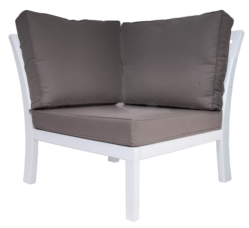 <p>Outdoor Furniture Leisure Collection Tuscany Corner Settee.</p> <p> </p> <p>Comfortable Patio Lounge Set Tuscany Corner Settee.</p> <p> </p> <p>Modern Leisure indoor or outdoor Hotel Coffee Lounge Set includes Armchairs, Chair, Corner Settee, Footstool and Table. Suits a variety of locations and settings including outdoor terraces, hotel reception areas and foyers with unlimited configuration options available.</p>