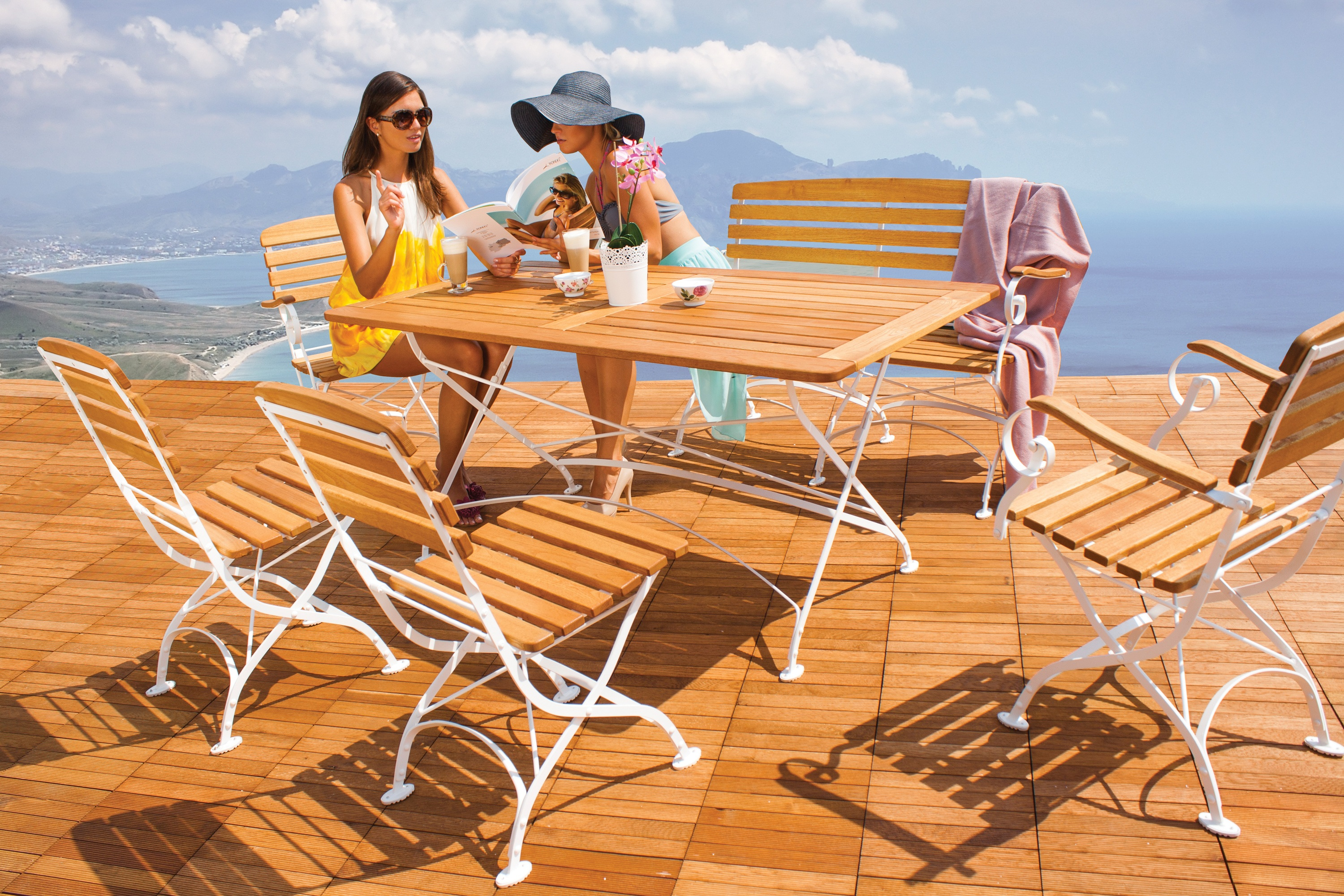 <p>Outdoor Furniture – Metal & Wooden Dining Collection – Creta.</p> <p> </p> <p>Pub, Restaurant & Outdoor Hospitality quality Dining Furniture.</p> <p> </p> <p>Fresh & stylish Metal & Wooden Outdoor Dining Furniture includes armchair, chairs, benches and tables. Warm, comfortable & durable in all weathers and suitable for indoor and outdoor use.</p>