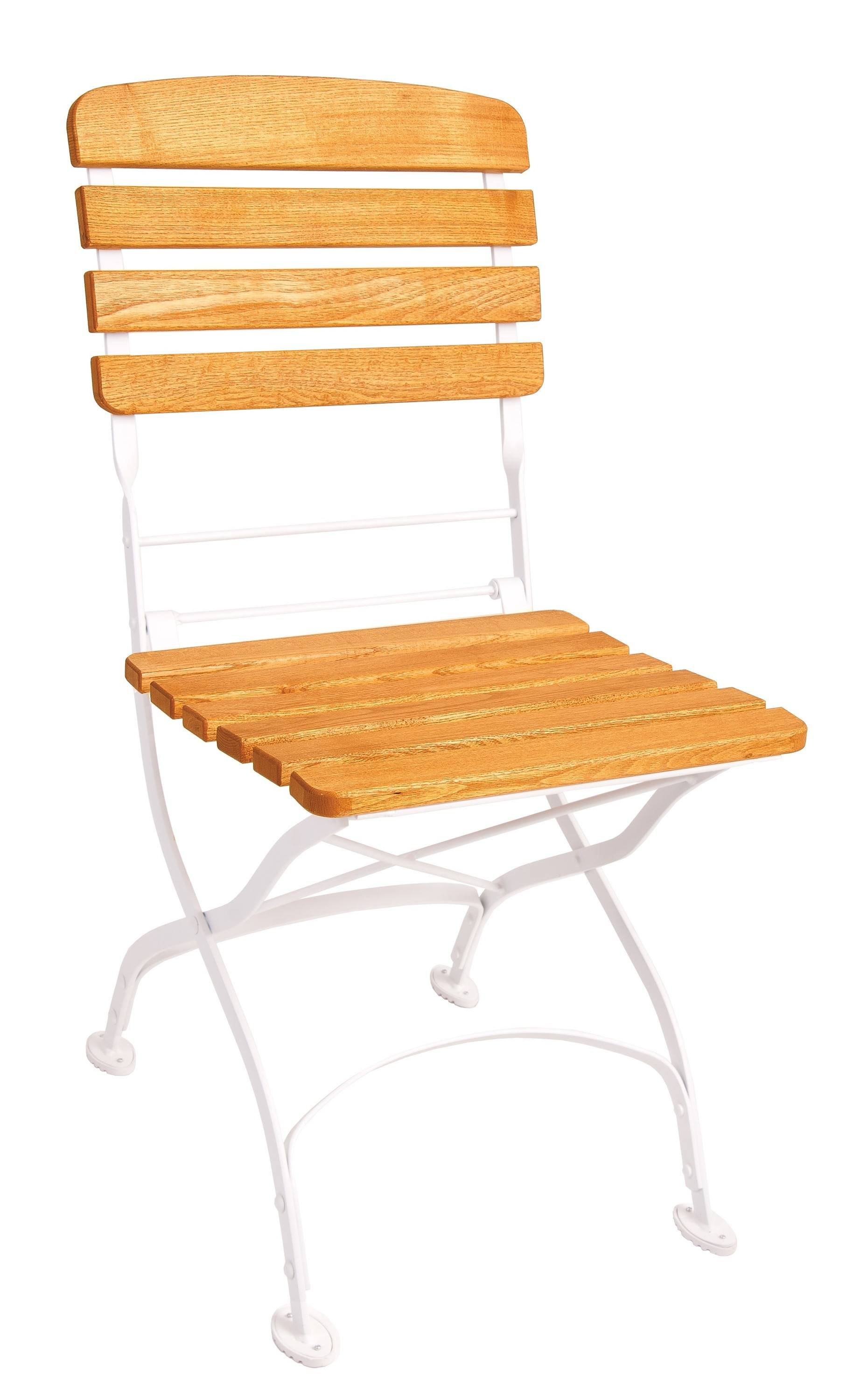 <p>Outdoor Furniture – Metal & Wooden Dining Collection – Creta Chair.</p> <p> </p> <p>Creta Furniture – Chair with honey coloured hardwood seat armrests and backrest with gently curved metal shaped frame.</p> <p> </p> <p>Ideally suited for either indoor or outdoor relaxed dining location in pubs or restaurants or more intimate café bistro al fresco area or for events requiring easy to fold and store furniture.</p>