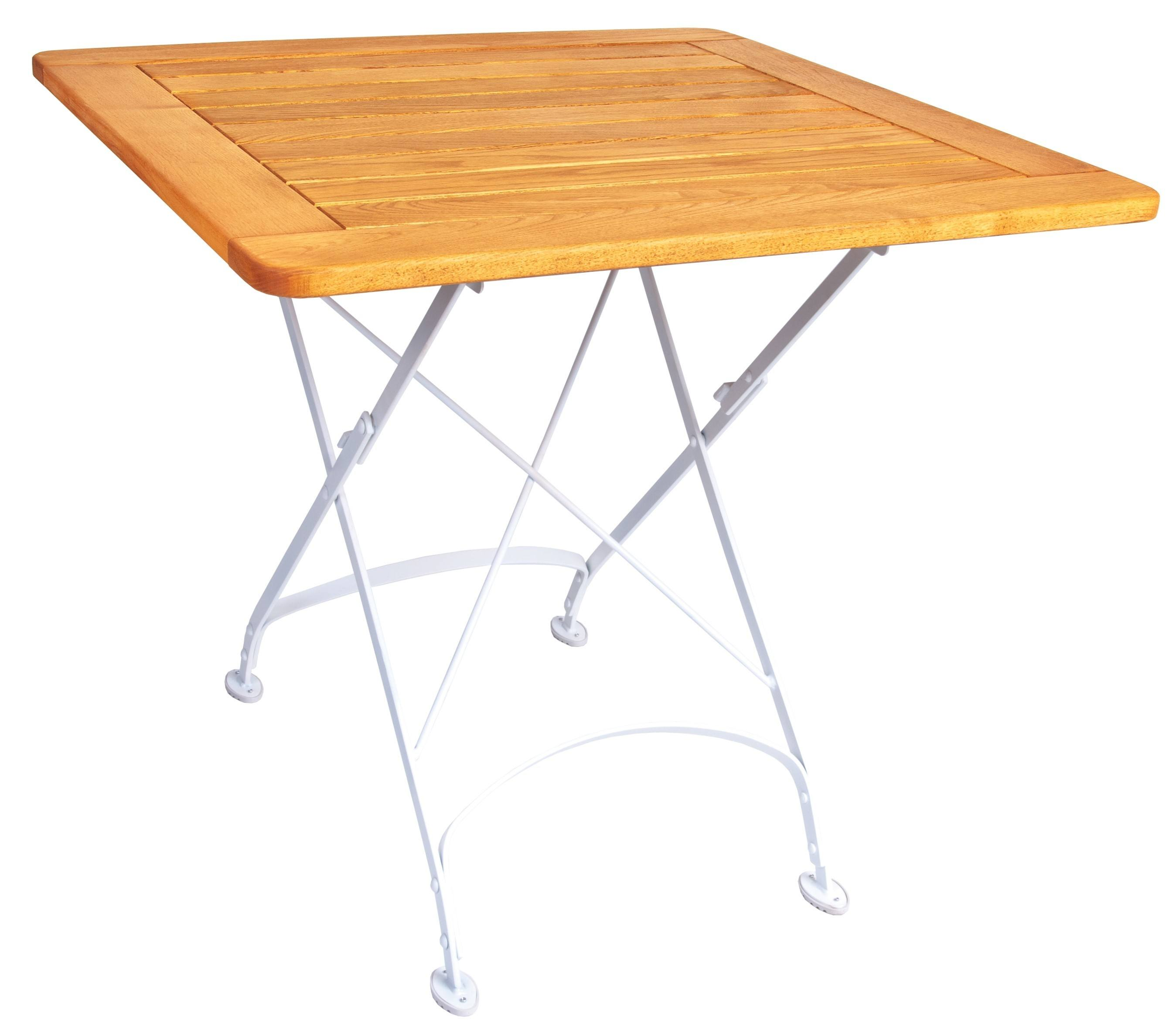 <p>Outdoor Furniture – Metal & Wooden Dining Collection – Creta Framed Table.</p> <p> </p> <p>Creta Furniture framed table with honey coloured hardwood tabletop with gently curved metal shaped frame.</p> <p> </p> <p>Ideally suited for either indoor or outdoor relaxed dining location in pubs or restaurants or more intimate café bistro al fresco area or for events requiring easy to fold and store furniture</p>