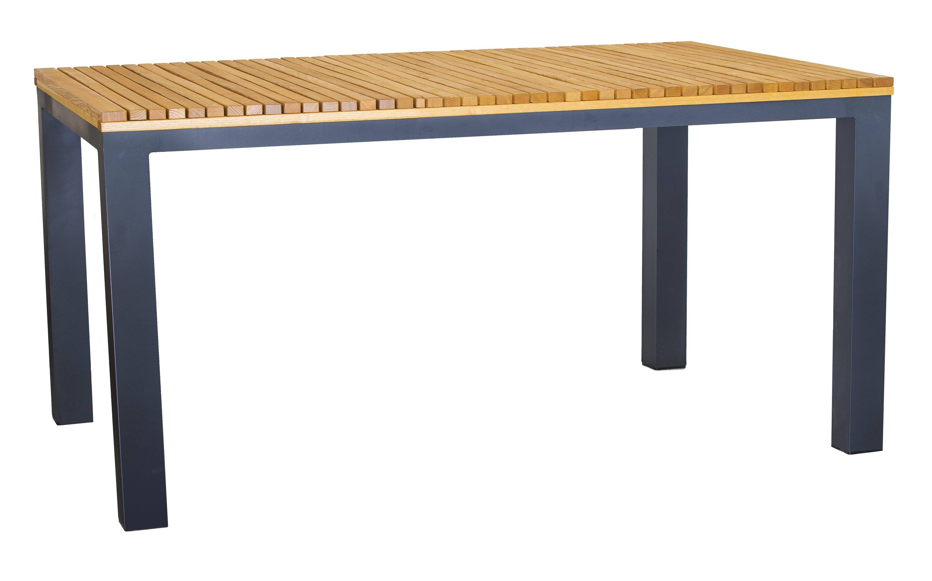 <p>Outdoor Furniture – Metal & Wooden Dining Collection – Moderno Table.</p> <p> </p> <p>Moderno Furniture table with hardwood tabletop with symmetrically shaped frame.</p> <p> </p> <p>Ideally suited for either indoor or outdoor relaxed dining location in pubs or restaurants or more intimate café bistro al fresco area</p>