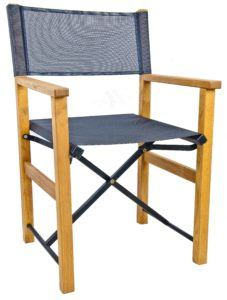 Direttore – Director-Style Folding Chair