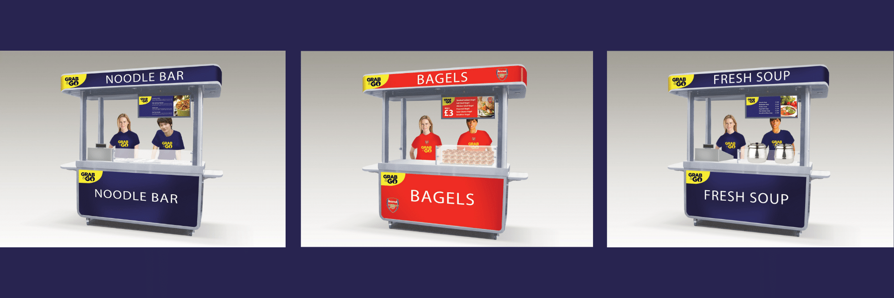 <p>Bespoke Products – Mobile Carts – Food Cart – Custom Design – Concept Design</p> <p></p> <p>Stylish, eloquent & custom-made Mobile Food Cart visual images of custom-built modular design</p> <p></p> <p>Designed to meet the customer needs & objectives to include catering equipment as required for serving hot drinks, hot or cold food etc or whatever the customer requires to make their mobile food bar unique & exclusive to their brand</p> <p></p> <p>One example of a design. We can design and manufacture to meet customer's specific objectives</p>