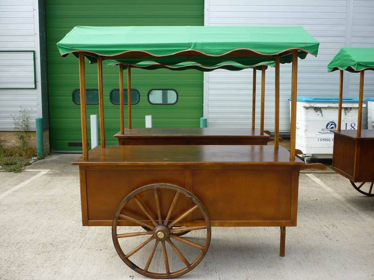 <p>Bespoke Products – Carts – Food & Drinks Carts</p> <p> </p> <p>Handmade wooden cart ideal for selling drinks, food, snacks, confectionery etc.  Designed and built to client specification</p> <p> </p> <p> </p> <p> </p> <p> </p>