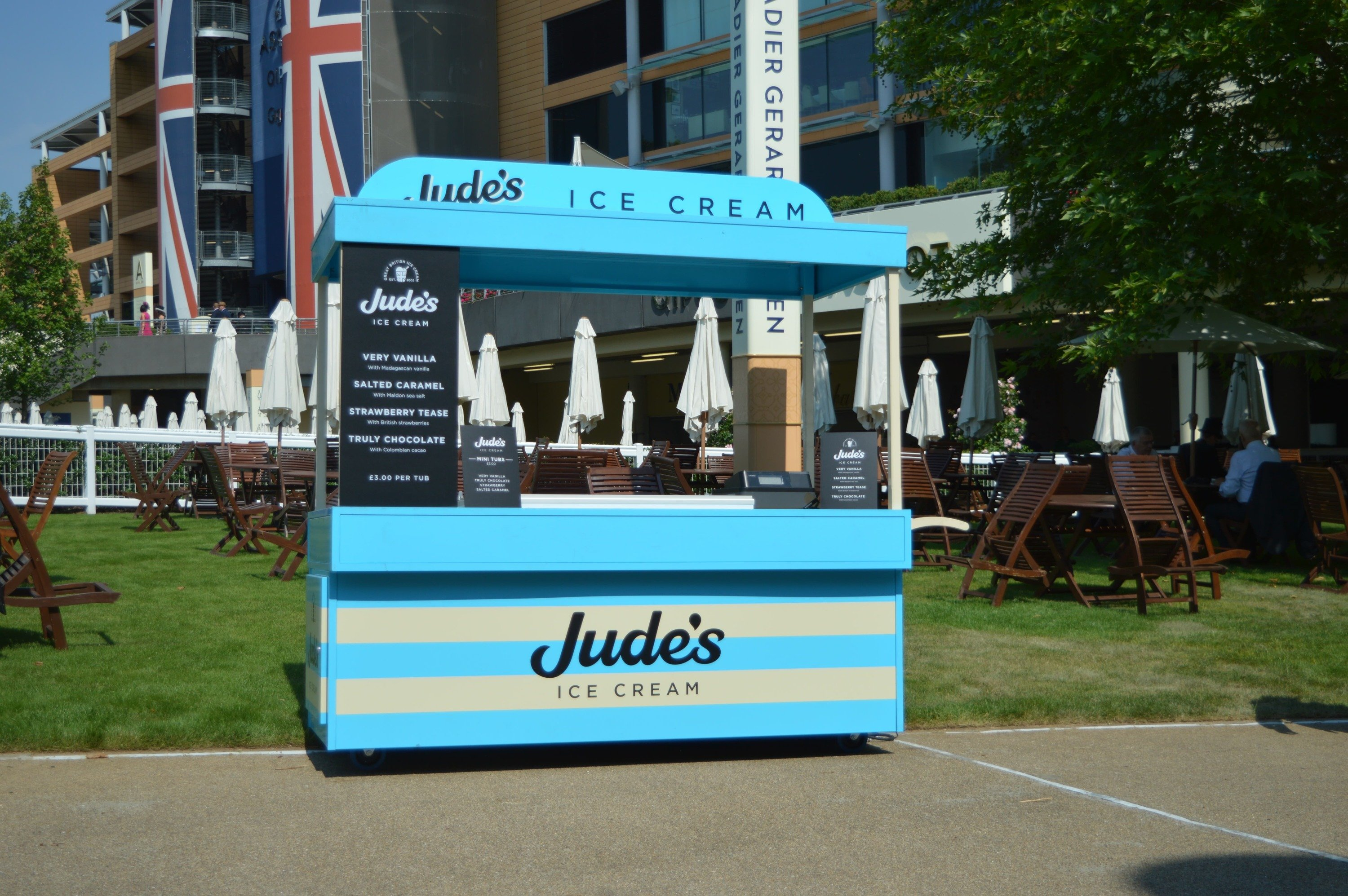 <p>Bespoke Products – Carts – Ice Cream Cart</p> <p> </p> <p>All our carts are designed and built to client specification including dimensions, equipment requirements, branding etc</p>