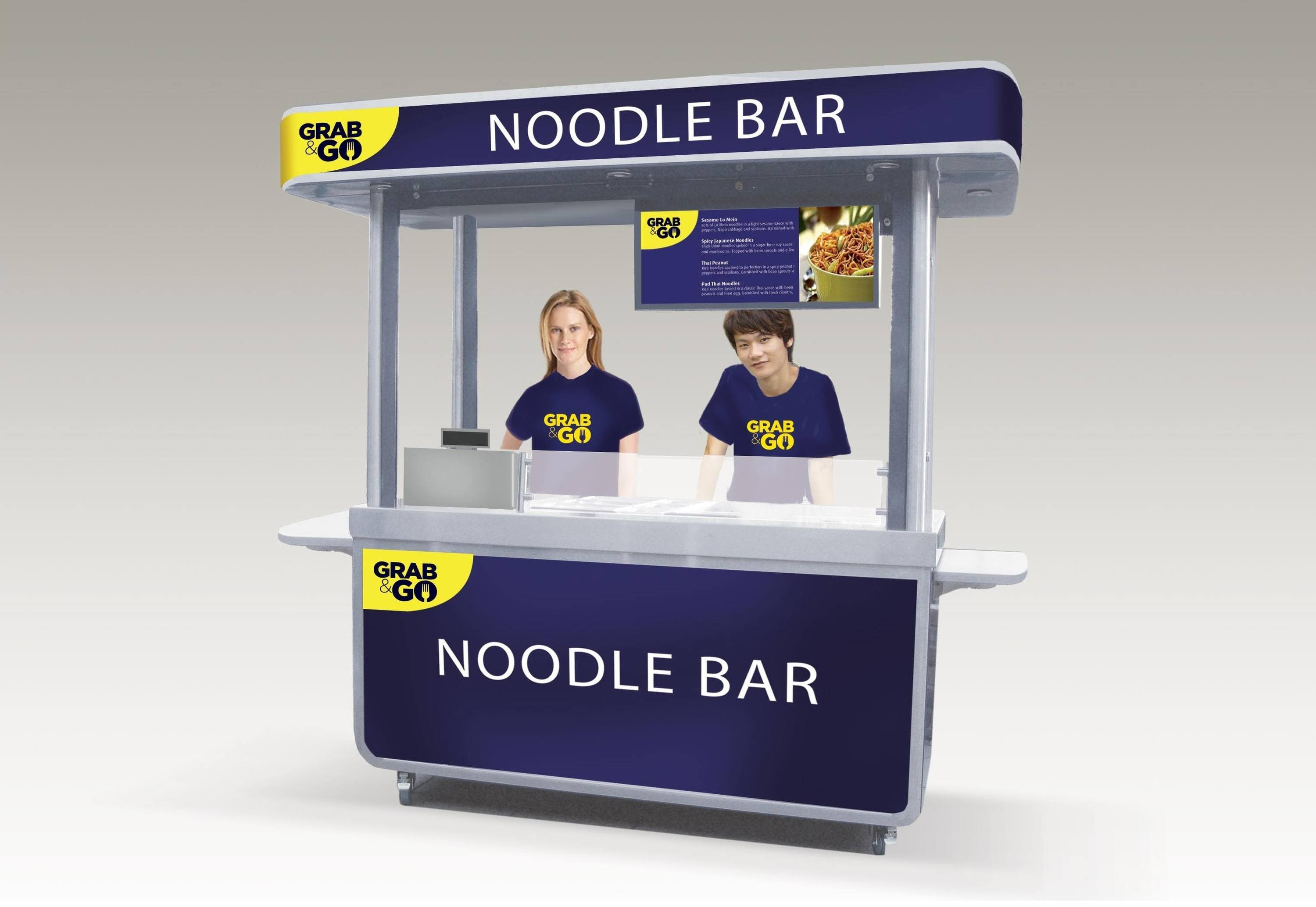 <p>Bespoke Products – Carts – Food Carts.</p> <p> </p> <p>Noodle Bar Cart concept – all our carts are designed and built to client specification including dimensions, equipment requirements, branding etc</p>