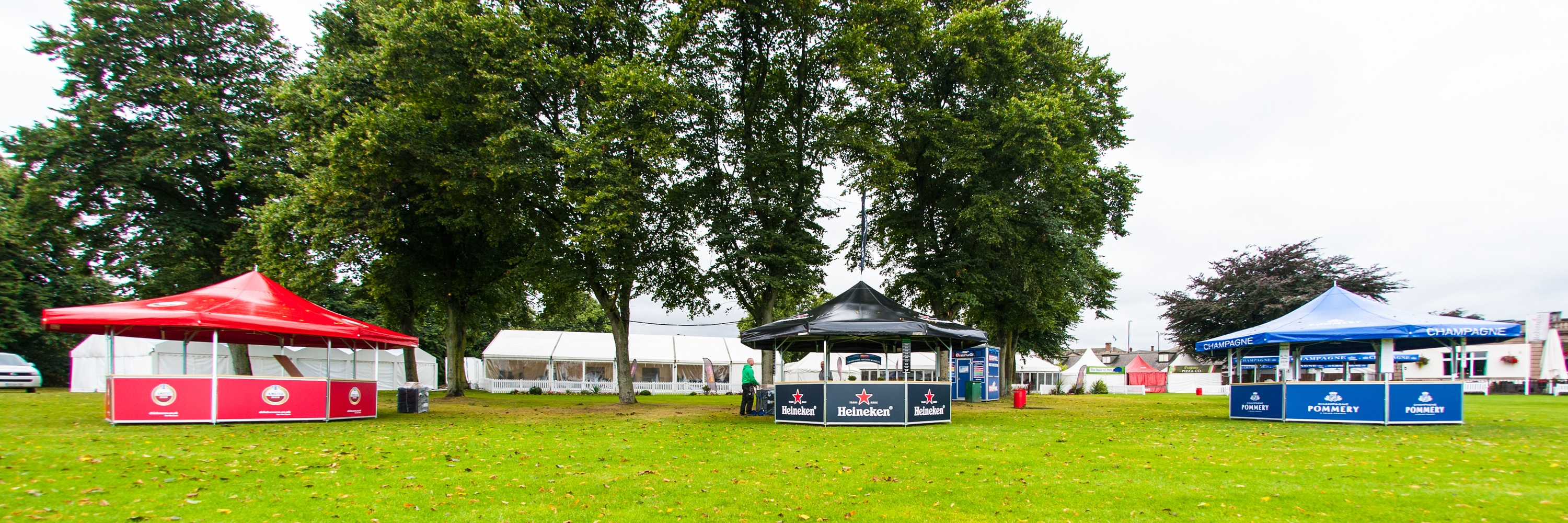 <p>Event, Mobile & Stadia Bars – Tents & Marquees – Pavilions – Octagonal Outdoor Bars</p> <p> </p> <p>Pavilion Bars – Octagonal Outdoor Event Bar and Champagne Bar – Amstel, Heineken & Pommery Bars</p> <p> </p> <p>Ideally suited for prestigious sporting events at racecourses, cricket grounds etc</p>
