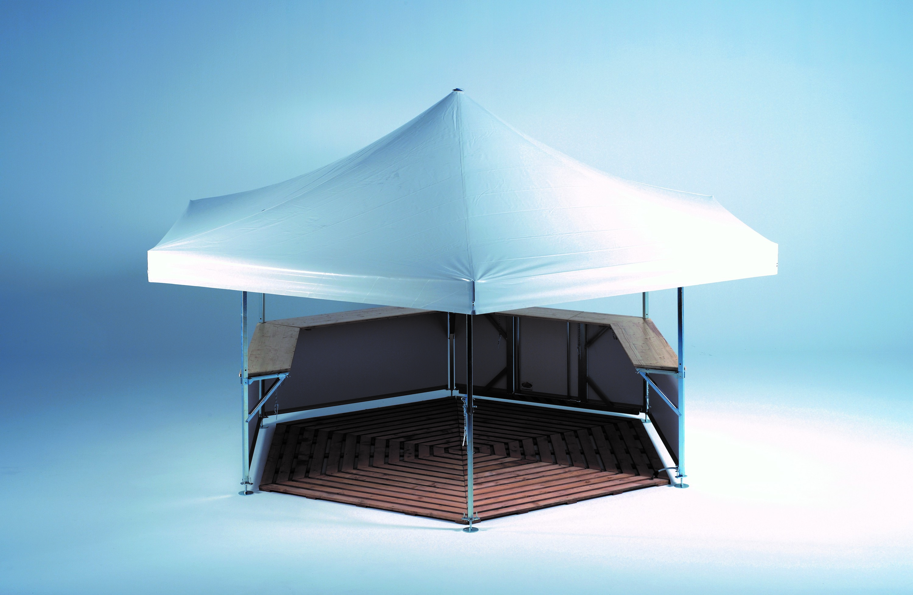 <p>Event, Mobile &amp; Stadia Bars &#8211; Tents &amp; Marquees &#8211; Hexagonal Pavilion &#8211;</p> <p>&nbsp;</p> <p>Displaying Wooden Flooring Accessory Option</p> <p>&nbsp;</p> <p>&nbsp;</p>
