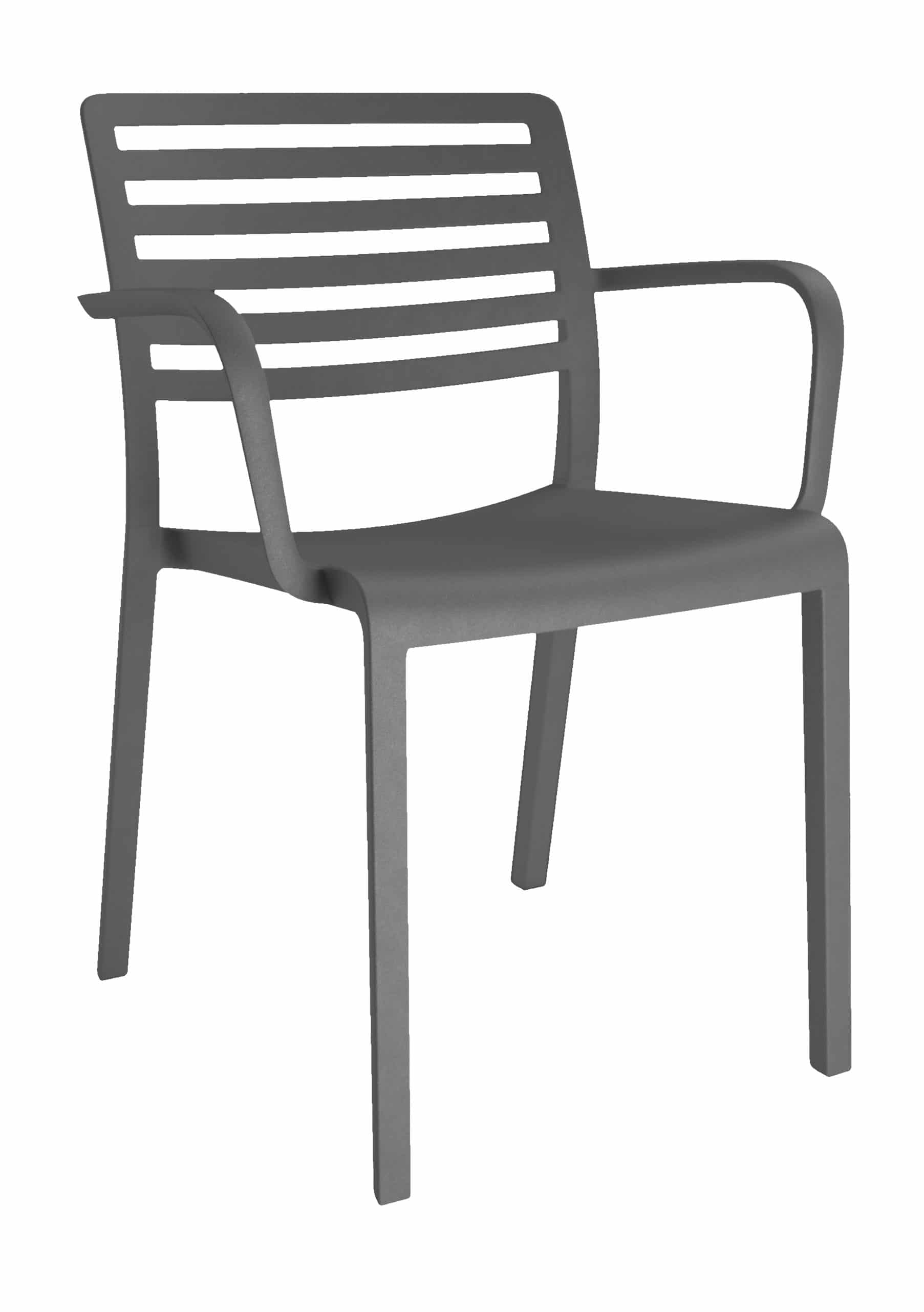 <p>Outdoor Furniture Contemporary Collection – Amarillo Armchair – Black.</p> <p> </p> <p>Chair designed for indoor and outdoor use available in a variety of colours, capturing essential features such as lightness, stability, functionality, ergonomics and care for the environment. Comfort, Modernity, style and durability</p>