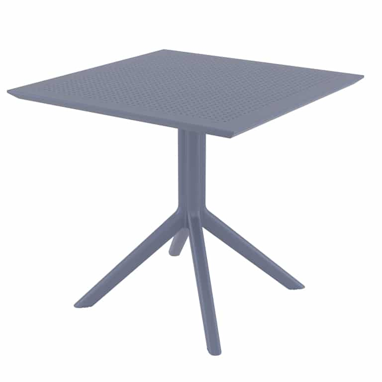 <p>Outdoor Furniture Contemporary Collection – Aventura Commercial Dining Table – Metallic Frame.</p> <p> </p> <p>Table for indoor and outdoor use. Combine with Aventura chairs or any chair of your choice to form a set.</p> <p> </p> <p>Adaptable to any environment being designed by architects. Captures essential features such as elegance lightness, functionality, ergonomics and care for the environment.</p>