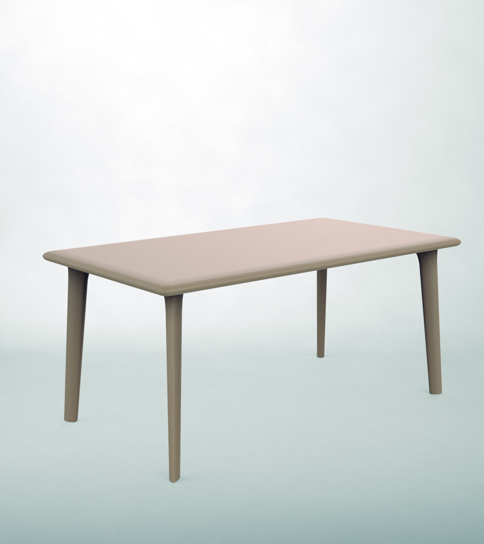 <p>Outdoor Furniture Contemporary Collection – Calera Commercial Dining Table – Sand.</p> <p> </p> <p>Table for indoor and outdoor use available in a variety of colours.</p> <p> </p> <p>Adaptable to any environment being designed by architects. Capturing essential features such as elegance lightness, functionality, ergonomics and care for the environment.</p>