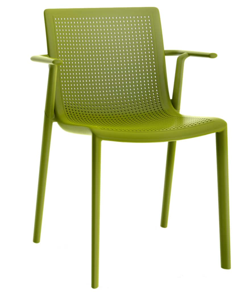 Contemporary Collection Commercial Outdoor Furniture – Colorado Armchair – Olive Green