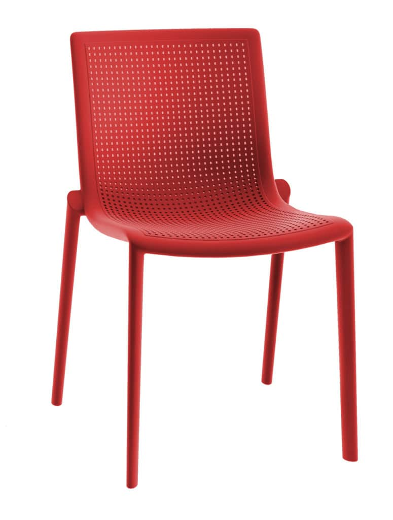 Contemporary Collection Commercial Outdoor Furniture – Colorado Chair - Red