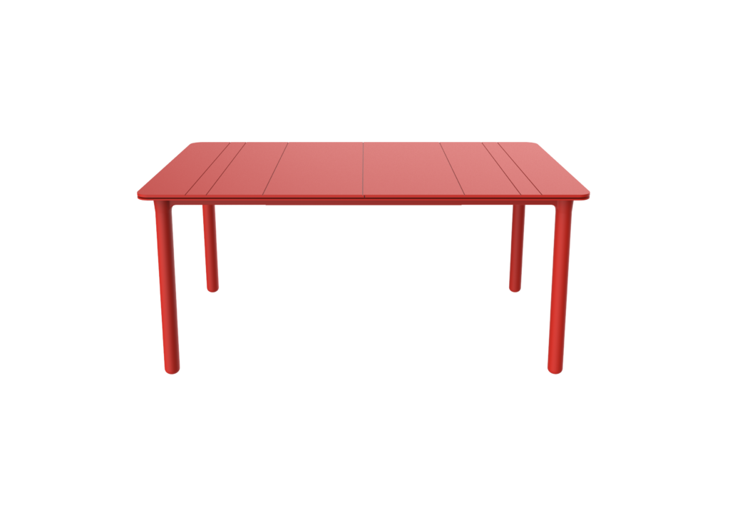 Outdoor Furniture Contemporary Collection – Durango Commercial Dining Table - Red