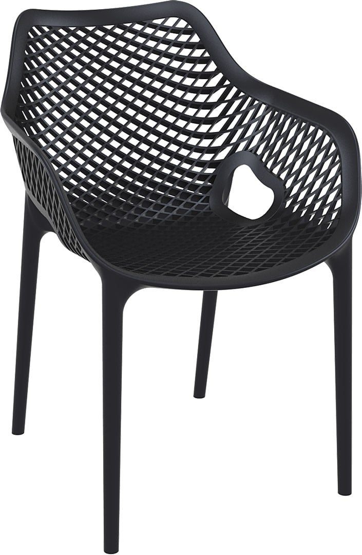 <p>Outdoor Furniture Contemporary Collection – Eldorado XL Chair – Black.</p> <p> </p> <p>XL Chair – often referred to as the Grid Chair, designed for indoor and outdoor use capturing essential features such as lightness, stability, functionality, ergonomics and care for the environment. Comfort, Modernity, style and durability</p>