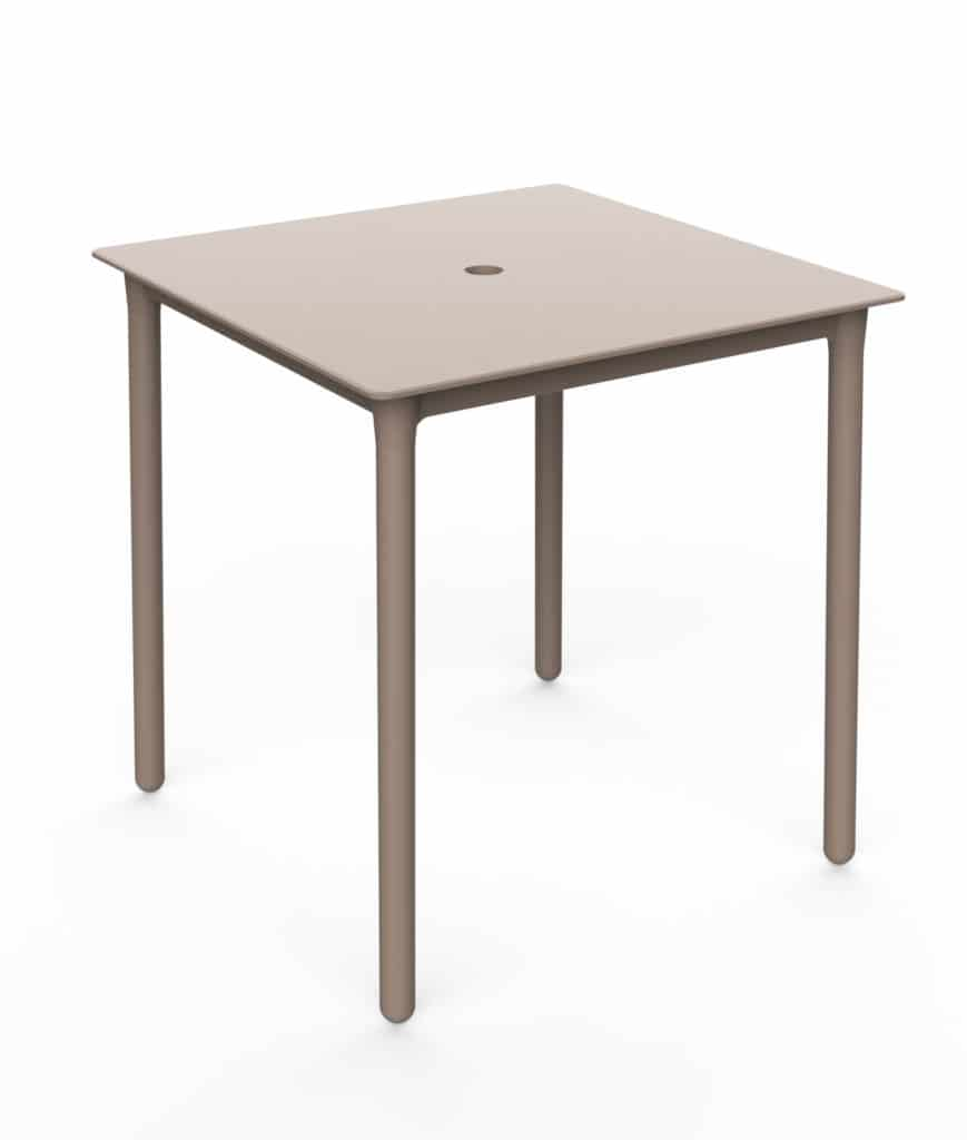 Outdoor Furniture Contemporary Collection – Flores Outdoor Dining Table - Sand
