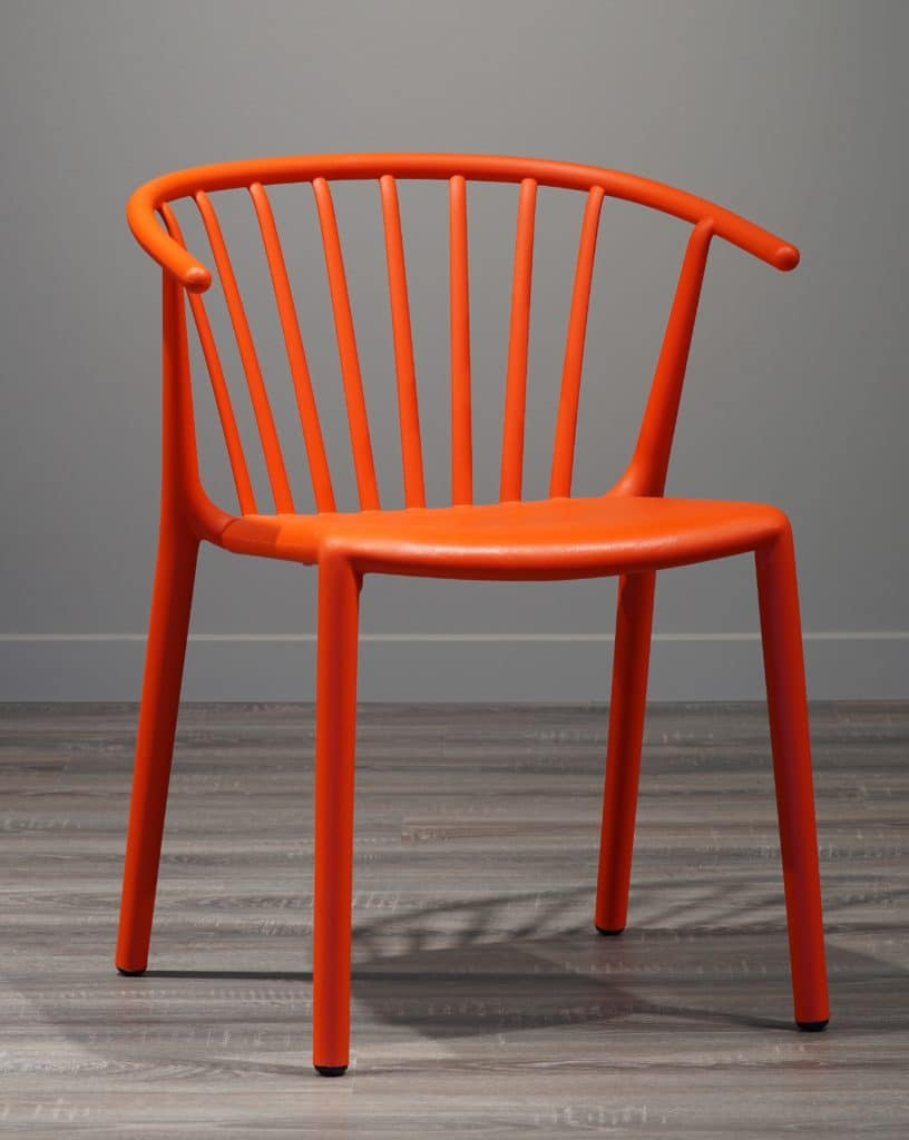Contemporary Collection Goleta Woody Outdoor Dining Chair available in various colours