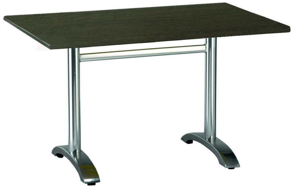 Outdoor Furniture Contemporary Collection – Hidalgo Outdoor Dining Table – Double Pedestal